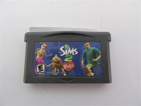 sims 2 pets gameboy advance