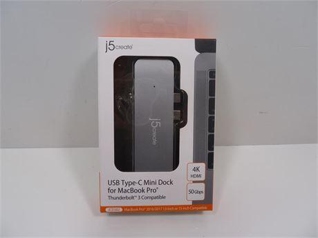 Cash Converters - J5 Create Usb Type-C Mini Dock