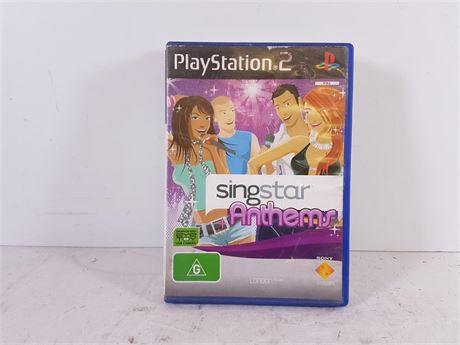 singstar ps2 anthems