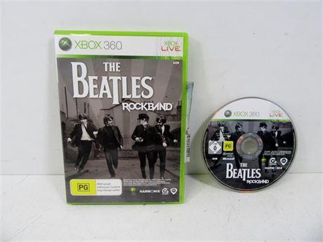 Cash Converters - The Beatles Rockband Xbox 360 Game